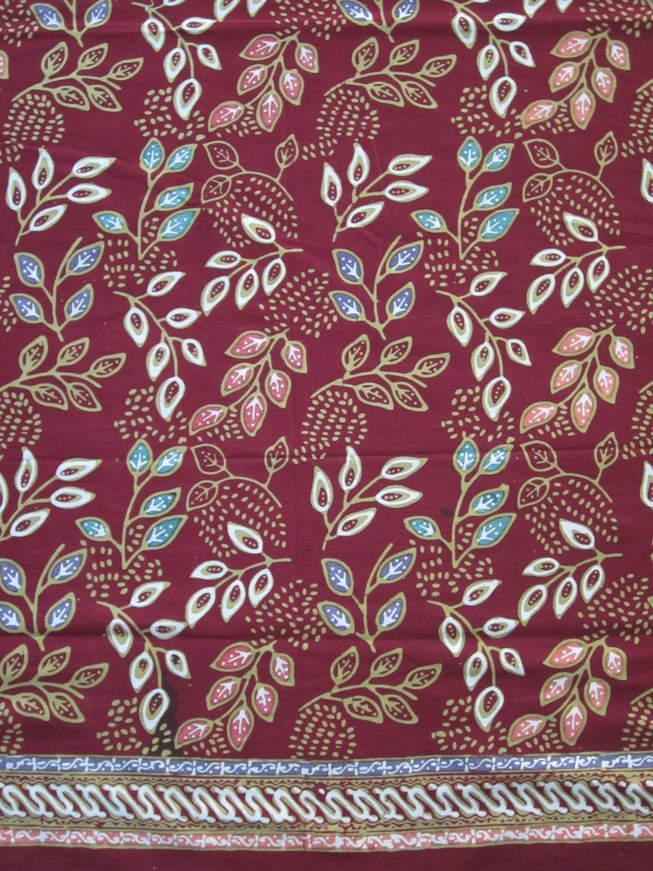 Combinasi #batik with a modern feel from Central Java Market.