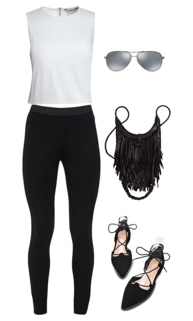 """""""DAY 1"""" by andrea-levander on Polyvore featuring Peace of Cloth, Canvas by Lands' End and Ray-Ban"""