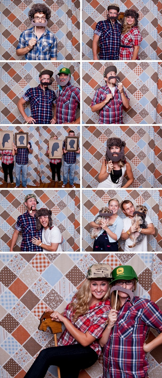 Photo props for Lumberjack/Moose Party It would make for some really funny photos!
