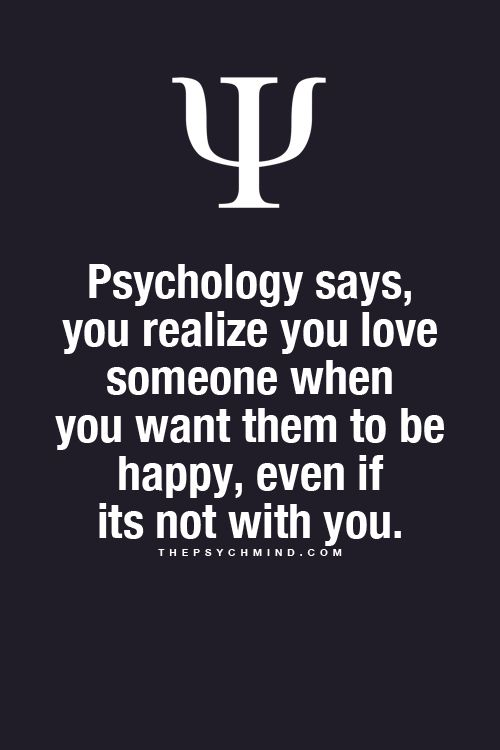 Psychology says, you realize you love someone when you want them to be happy, even if its not with you. | The Psych Mind