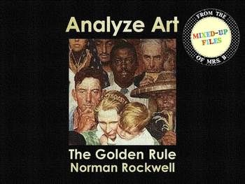 17 best images about norman rockwell for kids on pinterest for Golden rule painting