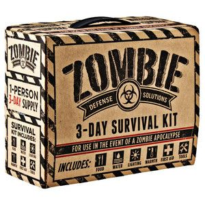 Every Day Carry Zombie 3 Day Survival Disaster Preparedness Kit 5 Year Storage | eBay
