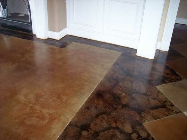 17 Best Images About Stained Floors On Pinterest