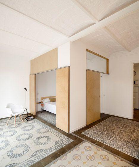 Adrian Elizalde renovates 1930s tiled apartment in Barcelona.