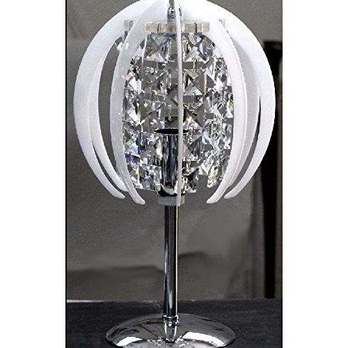 Abat jour lume lampada moderna in cristallo e plexiglass colorato 1 ...
