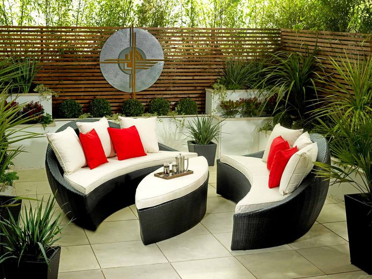3 Piece Rattan Garden Furniture by Living it Up