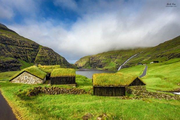 Les scandinaves sont très attachés à leurs toits végétalisés, à tel point qu'il existe même un concours pour sélectionner le plus beau «toit vert» organi
