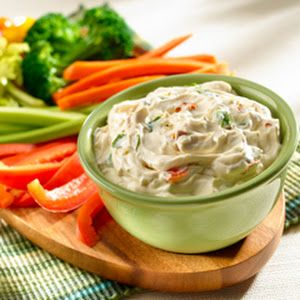 Easy Vegetable Dip With Knorr® Vegetable Recipe Mix, Hellmann' Or Best Food Real Mayonnais, Sour Cream