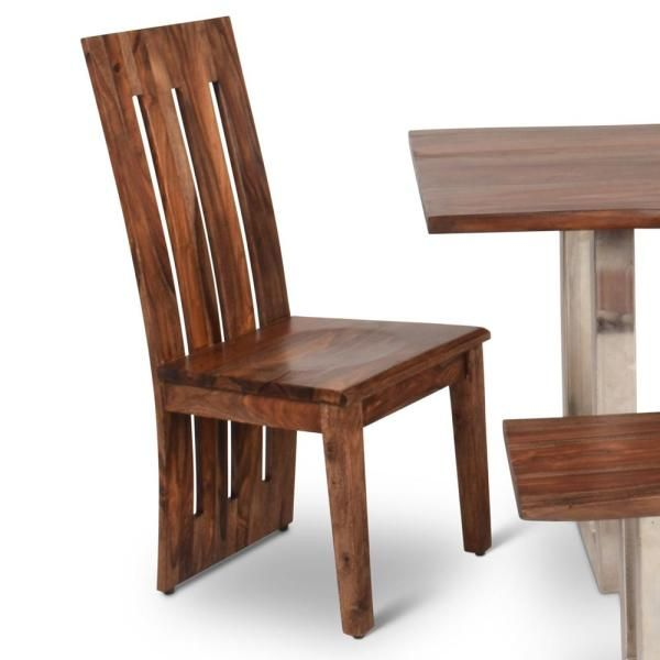 Steve Silver Riverwood Brown Side Chair Set Of 2 Rv350s Solid