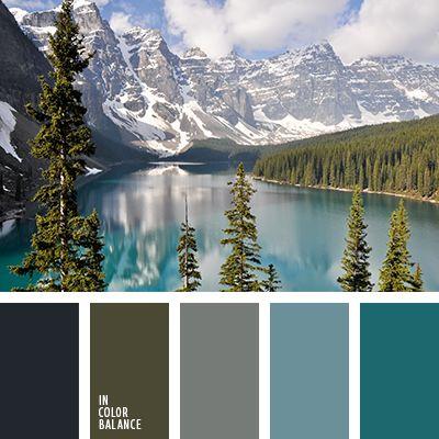 бирюзовый, бледно-голубой, графитовый серый, графитовый цвет, оттенки бирюзового, оттенки синего, оттенки холодных цветов, палитра холодных тонов, светло серый, серебряный, серый, синий, темно серый, темно-синий, холодная гамма, цвет гор, черный.