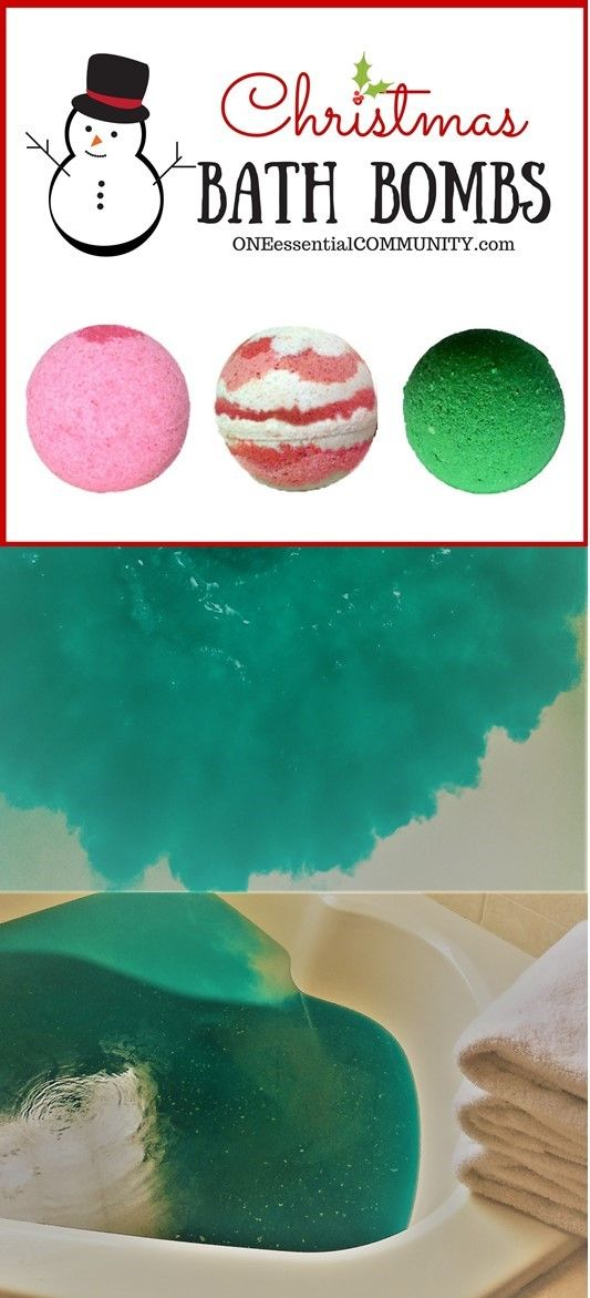 My FAVORITE bath bomb recipe and easy step-by-step instructions-- plus there's 25 other amazing recipes and ideas for homemade ESSENTIAL OIL GIFTS for Christmas!!!  Great find!!