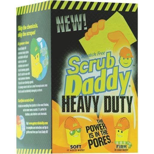 Scrub Daddy Scrub Daddy Heavy Duty SDHD36CT Unit: Each, Yellow