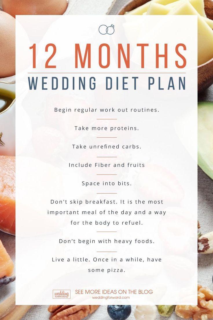 diet plan for wedding