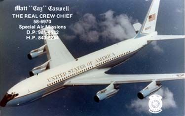 Air Force One 707 Simulator Project - Air Force Two - SAM 86972 & SAM 56974