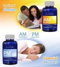 AM & PM Essentials™    These unique dietary supplements slow the symptoms of premature aging. Potent vitamins and minerals target DNA and delay telomere deterioration. AM Essentials™ supplements release energy-enhancing nutrients that bring mental clarity and focus. The PM Essentials™ formula balances systems for a restful sleep.  *60 caplets per bottle http://MickKarshner.JeunesseGlobal.com