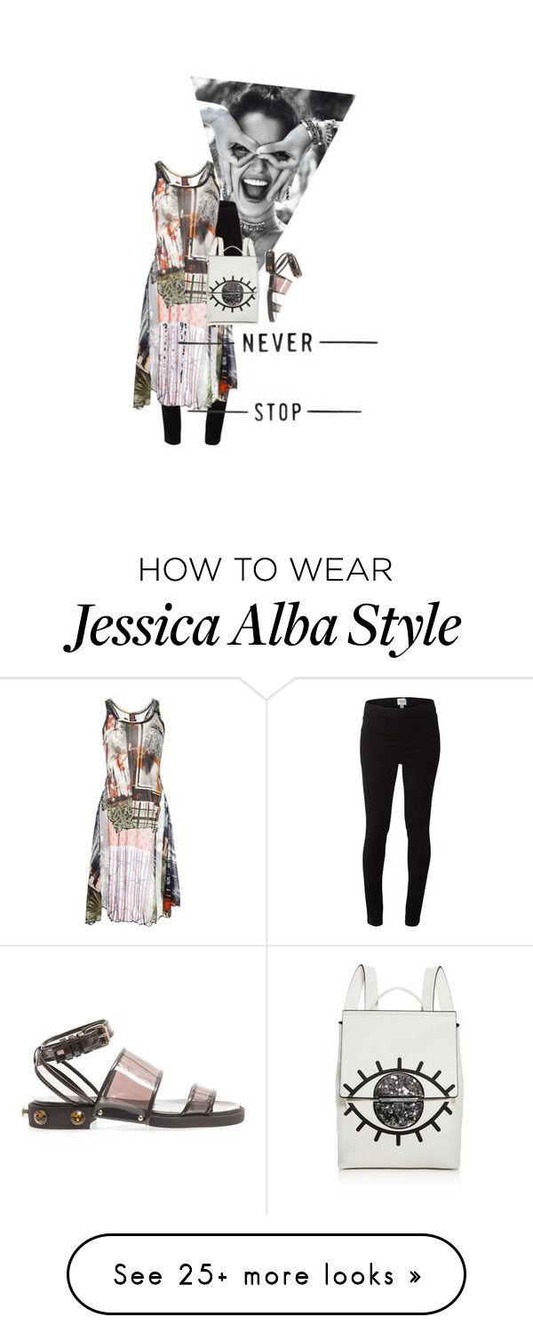 """the optimist"" by salt-and-pepper on Polyvore featuring White Stuff, Jean Paul Gaultier Soleil, Givenchy, Kendall + Kylie, sandals, backpack, Leggings, transparent and summer2017"
