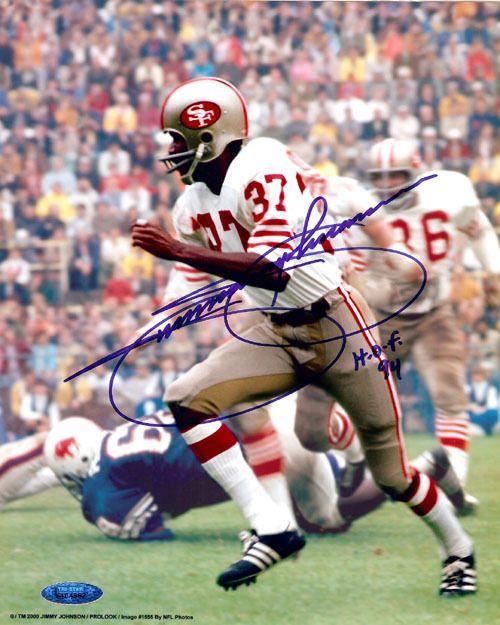 Jimmy Johnson Autographed 8x10 Photo 49ers TriStar