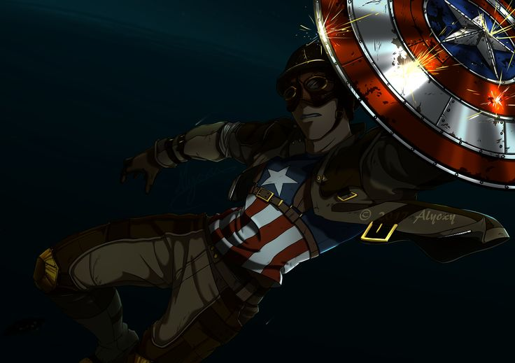 Steampunk Captain America