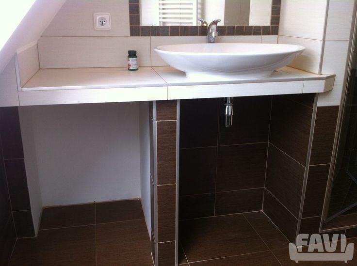 Moderní koupelny inspirace - Rekonstrukce podkroví RD Liberec | Favi.cz