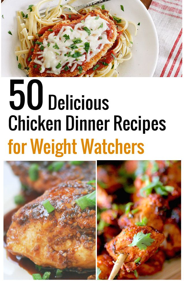50 Delicious Chicken Dinner Recipes for Weight Watchers – Recipe Diaries