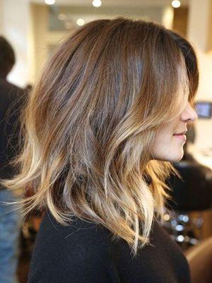 Cortes de pelo 2014 medios para peinados fáciles
