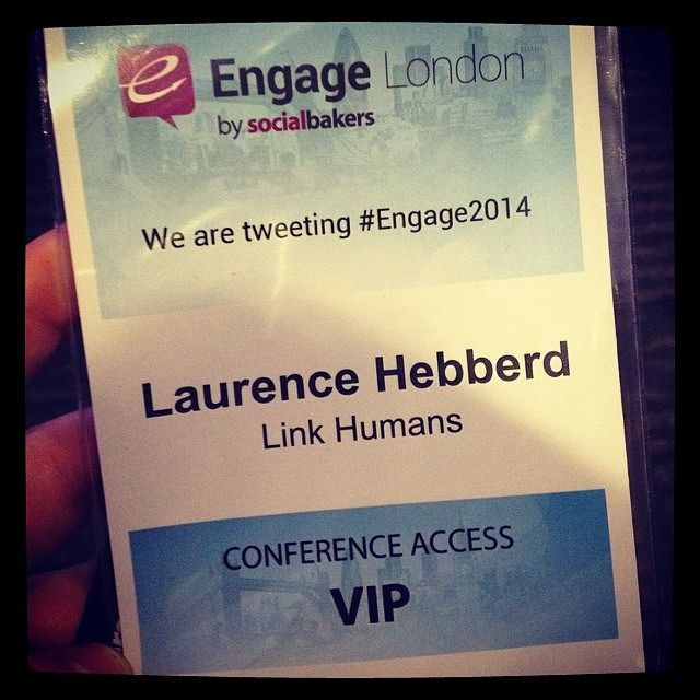 Today, @laurence_hebberd is at @Socialbakers' #Engage2014 London conference. Follow the hashtag for more! | Flickr - Photo Sharing!