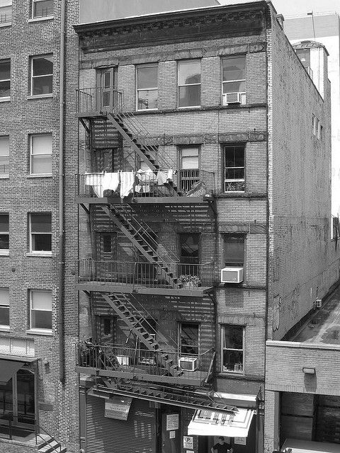 Old life in the NYC (photo by Dan Rosenthal)