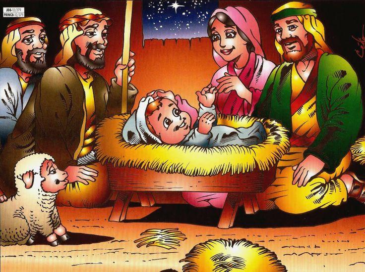 Jezus is geboren 3, free printable