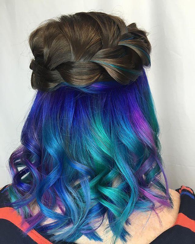 Thursday's are for mermaids #mermaid #rainbow #underlights