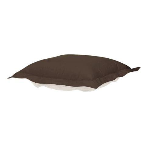 Howard Elliott Q310-462P Seascape 24 X 24 Puff Ottoman Cushion, Brown chocolate, Outdoor Cushion
