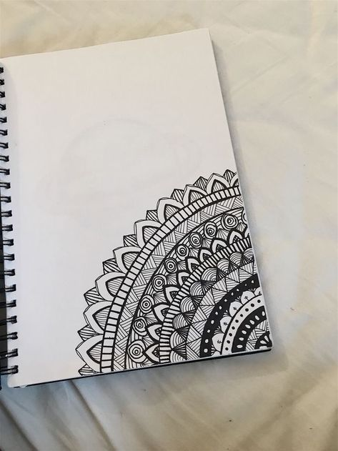 342716ce245047 40 Beautiful Mandala Drawing Ideas   Inspiration - Brighter Craft