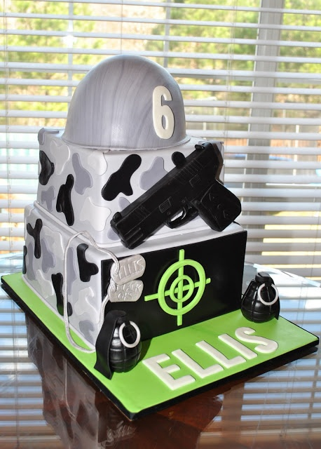 Army Cake, Hope's Sweet Cakes