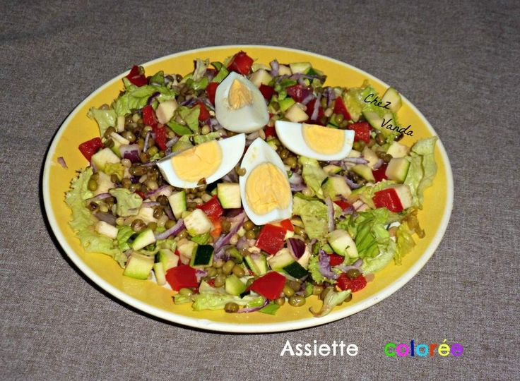 1000 id es sur le th me salade de l gumineuse sur for Cuillere pour decorer les assiettes