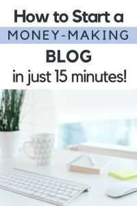 Ready to learn how to start a profitable blog and make money from home? Follow my tutorial to start your own WordPress blog and learn exactly how to make money blogging. #makemoneyonline #blogging #startablog #profitableblogger #workfromhome