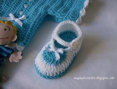 Booties free crochet tutorial