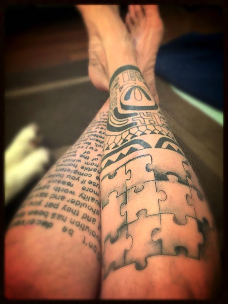 My jigsaw tattoo
