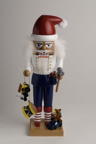 Retired KWO Santa Helper German Christmas Nutcracker Erzgebirge Germany New | eBay