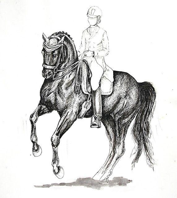 MZ - horse art: Piruet I