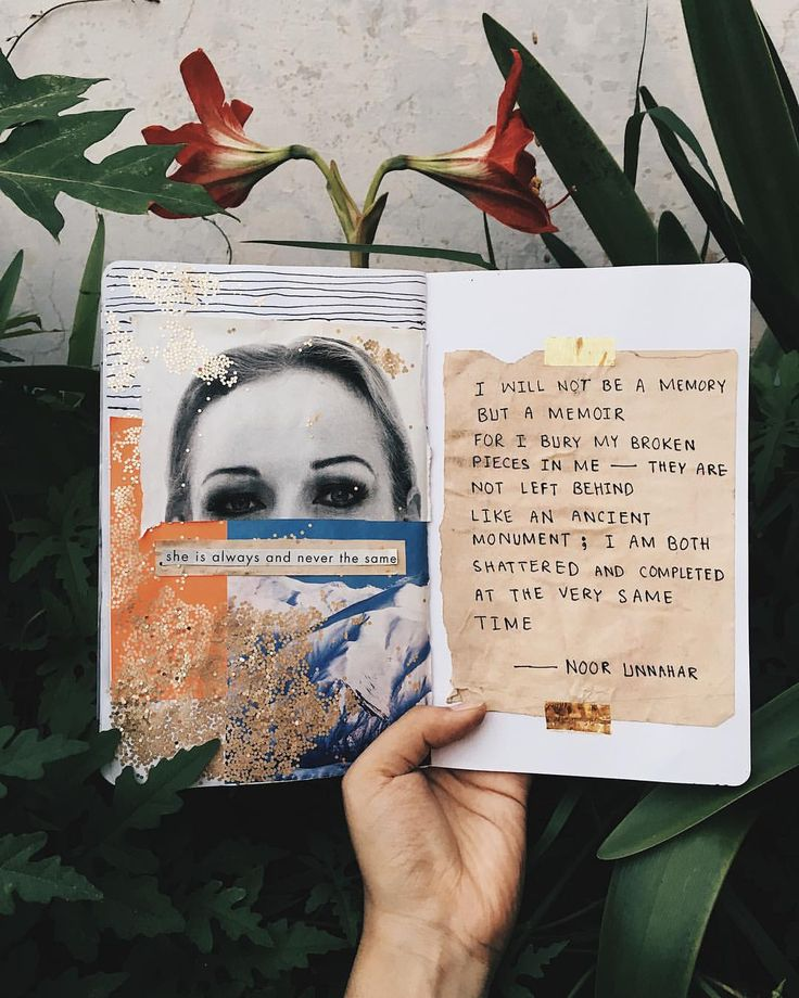 — not a memory // art journal + poetry by noor unnahar    // journaling ideas inspiration diy craft notebook stationery, tumblr indie pale grunge hi…