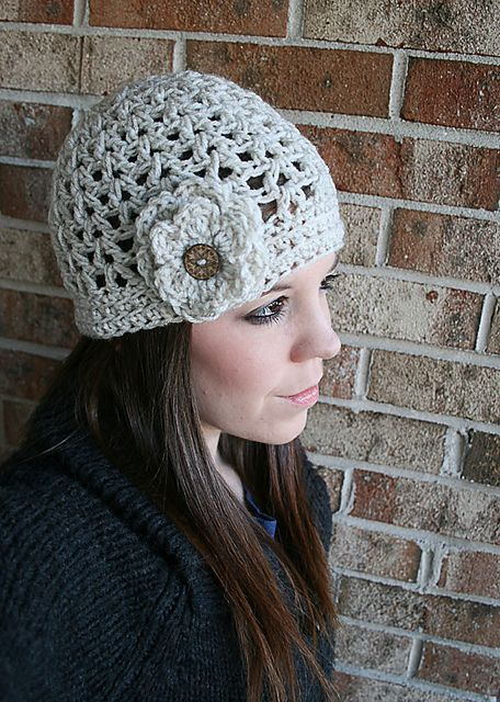Ravelry: V Stitch Crochet Summer Hat pattern by Teresa Richardson