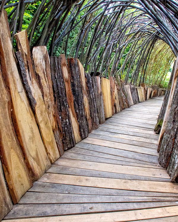 Plank Bridge, Chaumont-sur-Loire Garden Festival  The International Garden Festival created in 1992 offers an annual tribute to garden design with a new theme each year.