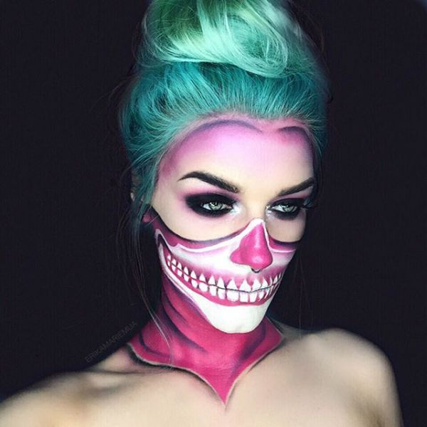 50 pretty halloween makeup ideasminimal costume required - Original Ideas For Halloween