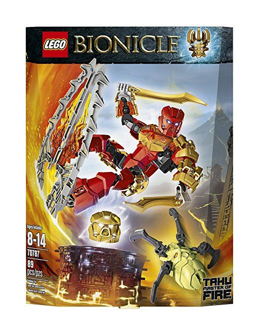 Amazon.com: LEGO Bionicle Tahu - Master of Fire Toy: Toys & Games