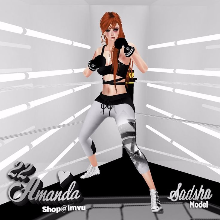 💟💟💟 Visita 22amanda Shop 💟💟💟 💟22a_Boxer Girl [Outfit] http://es.imvu.com/shop/product.php?products_id=30530770  💟22a_Boxer Converse http://es.imvu.com/shop/product.php?products_id=30530802  💟22a_Hilary 3 Ginger http://es.imvu.com/shop/product.php?products_id=35450963
