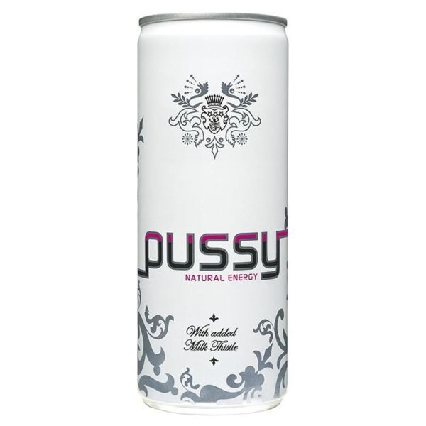 PUSSY NATURAL ENERGY DRINK