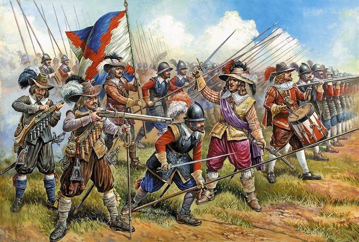 Imperial German Tercio, Thirty Years War