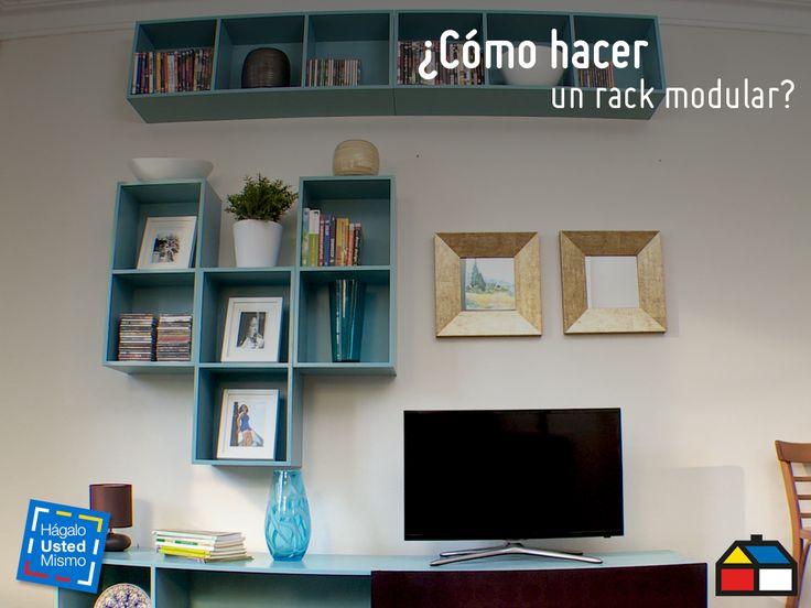 ¿Cómo hacer un rack modular? #Sodimac #Homecenter #HágaloUstedMismo #DIY