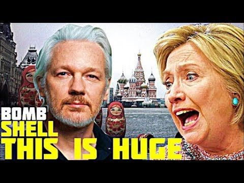 """FULL INTERVIEW! Julian Assange Most REVEALING Video Ever """"Hillary Clinton Will Be Jailed For This"""" - YouTube"""
