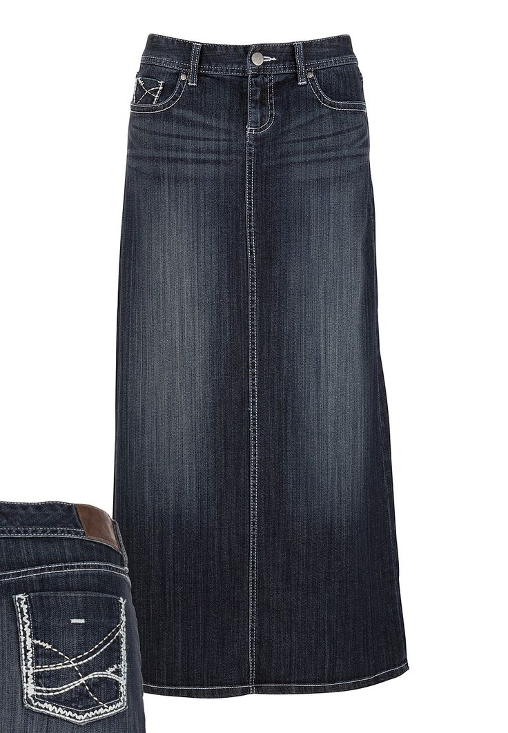 25 best ideas about denim skirts on maxi