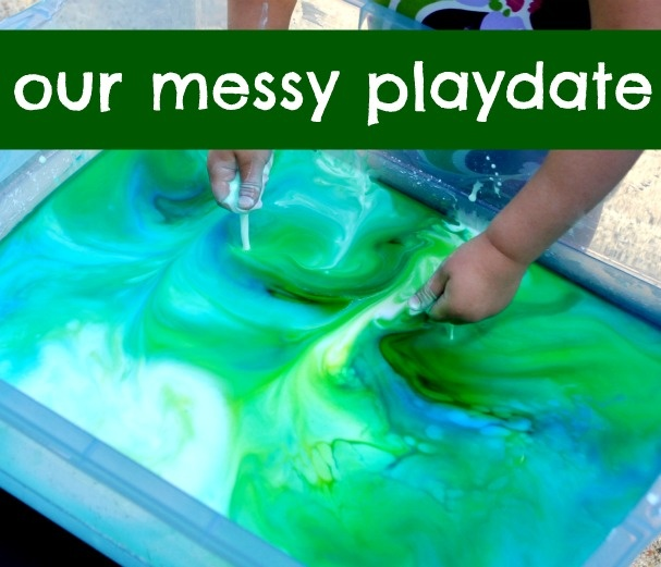 The Iowa Farmer's Wife: Outdoor Messy Playdate.  Tons of awesome outdoor sensory ideas in a single play date.  Really cool.: Iowa Farmer S, Messy Playdate, Iowa Farmers, Outdoor Messy, Sensory Ideas, Playdate Ideas, Kid, Farmers Wife